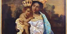 Obraz Matki Bożej Piekoszowskiej w nowej szacie