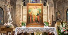 Stary kościół Przemienienia Pańskiego w Kielcach - Białogonie (dekanat Kielce-Zachód)